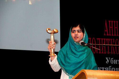 RAW 2013 Anna Politkovskaya Award: Malala Wins Top Human Rights