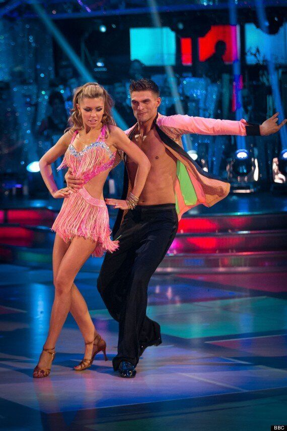 'Strictly': Abbey Clancy Accused Of Being 'Clingy' With Dance Partner Aljaz Skorjanec By His Girlfriend...