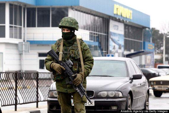 Ukraine Accuses Russia Of 'Armed Invasion' Of Crimea, As Militants Occupy
