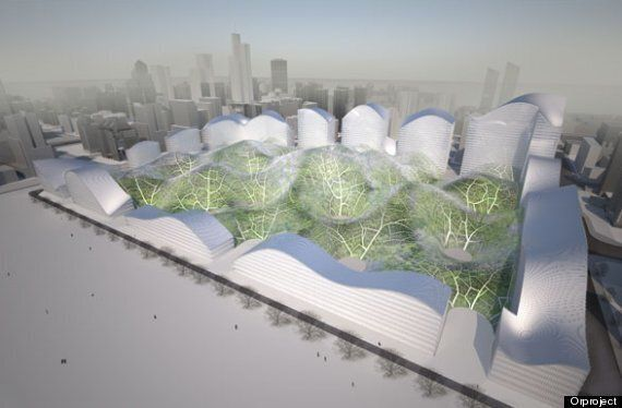 Orproject Proposes Giant Domes To Project Beijing From Air Pollution 'Nuclear
