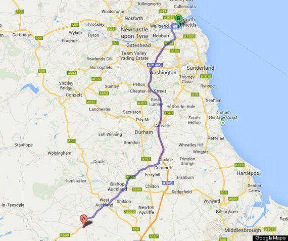 River Tees Or Tyne? David Cameron Has No Idea Where Up North He