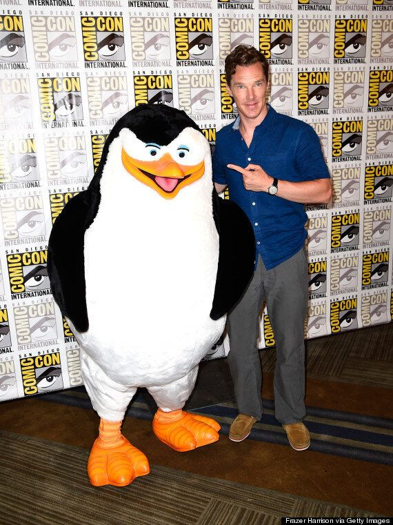 Benedict Cumberbatch Wins Comic-Con 2014 Day One: 'Sherlock' Star Reveals 'Batman' Hopes And Why He Loves...