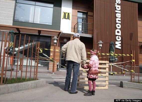 Russia Takes Aim At McDonald's In Battle Of The Burgers As US Ties