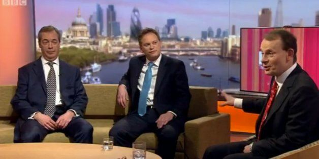 Grant Shapps and Nigel Farage