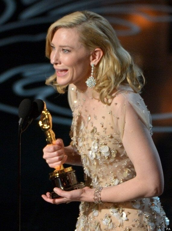 Oscars 2014: Cate Blanchett Wins Best Actress For 'Blue Jasmine', Thanks Woody Allen For