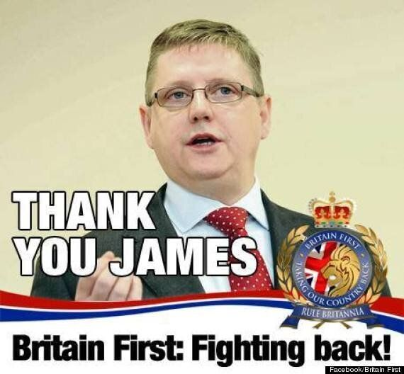 Britain First's Jim Dowson Resigns Over Party's 'Bit Rude' Mosque