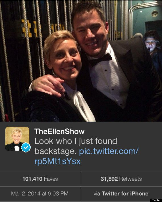 Did 'Oscars' Host Ellen Switch To An iPhone Backstage After Record-Breaking Samsung
