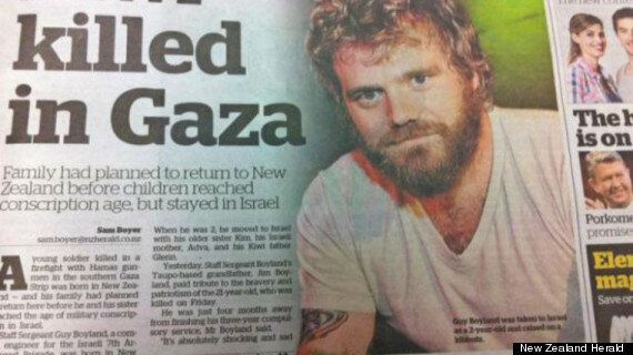 New Zealand Herald Accidentally Runs Image Of Dead Jackass Star Ryan Dunn In Report About Israeli Soldier...