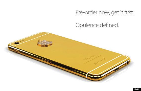 Diamond Encrusted Brikk Lux iPhone 6 Costs A Fortune And You Have To Wait An Extra Month For