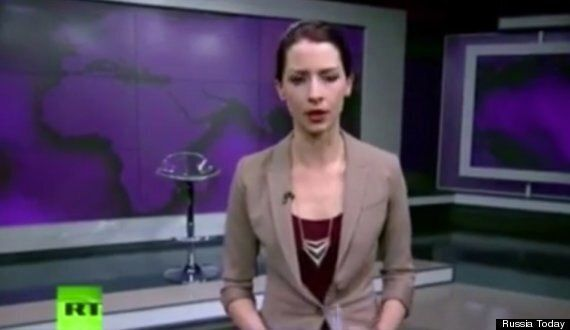Russia Today Host Abby Martin Goes Spectacularly Off-Message In Ukraine Broadcast