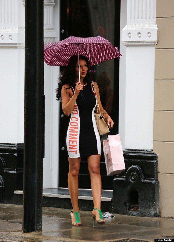 Helen Flanagan Shows Off New Hair Do During Lingerie Shopping Trip