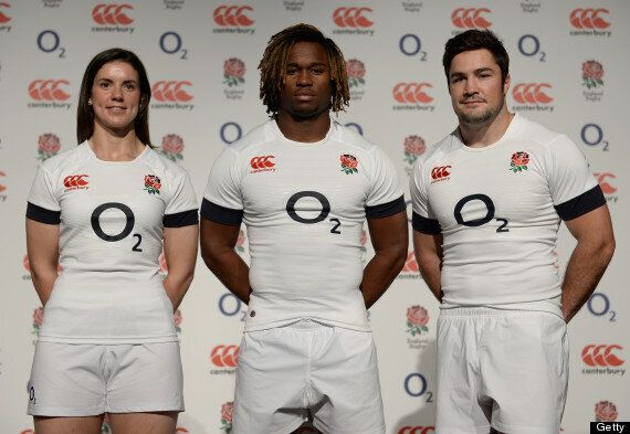 England's New Canterbury Rugby Kit Revealed