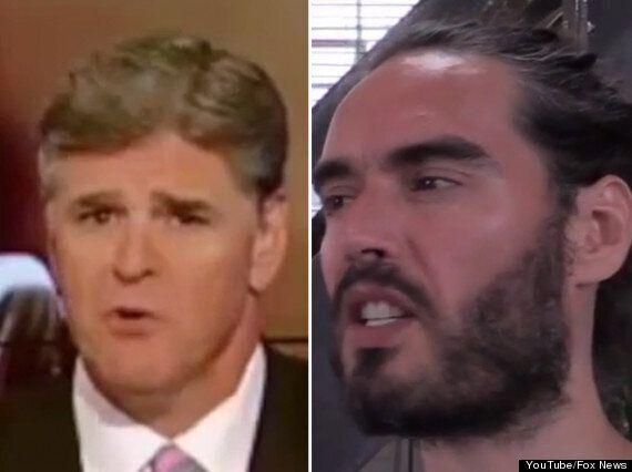 Russell Brand Accuses Sean Hannity 'Of Looking Like Ken Doll' In Gaza Video