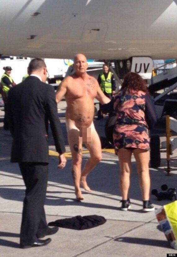Drunk Passenger Strips Naked At Manchester Airport, Gets Tasered