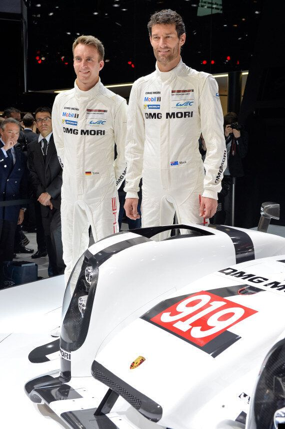 Porsche Reveals New 919 Hybrid Car For Le Mans And WEC