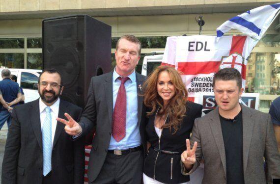 EDL Ex-Leader Tommy Robinson Refuses To End Association With Pamela Geller And Robert