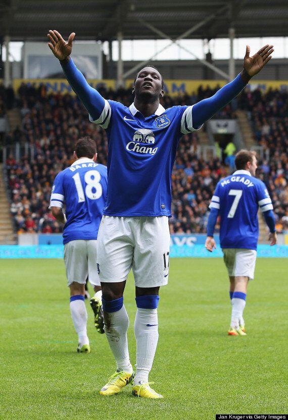 Romelu Lukaku Signs For Everton In £28m Record