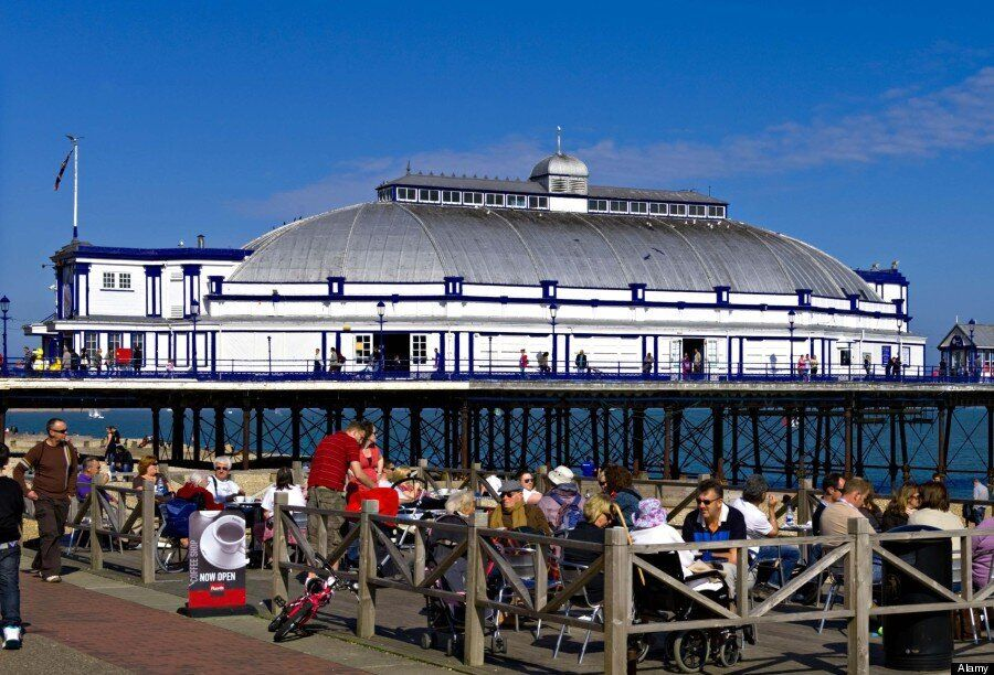 Eastbourne Pier Fire: Heartbreaking Before And After Photos Reveal Devastation To Iconic Structure