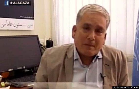 UN Official Chris Gunness Breaks Down & Sobs Uncontrollably Over Israeli Shelling Of Gaza School