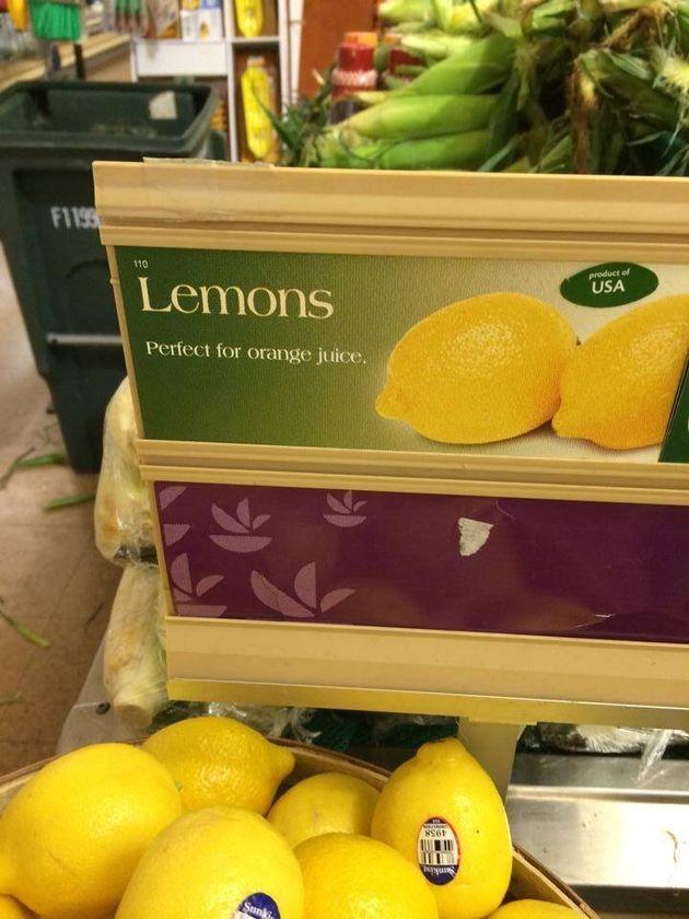 You Had One Job, Supermarket