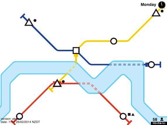 MiniMetro: Design Your Own Tube Map With This Crazily Addictive New