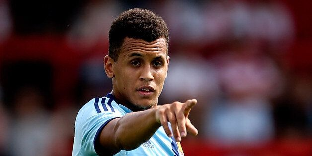 STEVENAGE, ENGLAND - JULY 12: Ravel Morrison of West Ham in action during the Pre Season Friendly match...