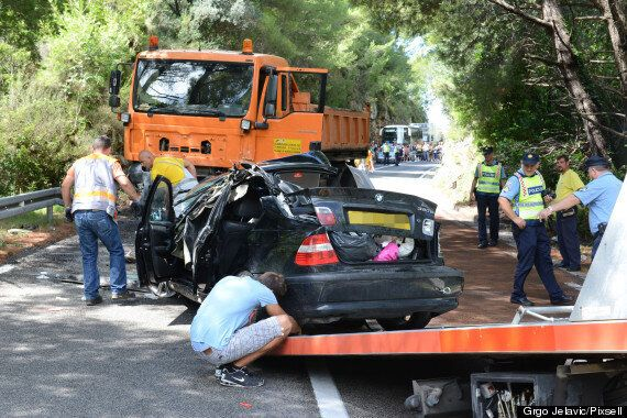 British Father And Two Children Killed In Croatia Car