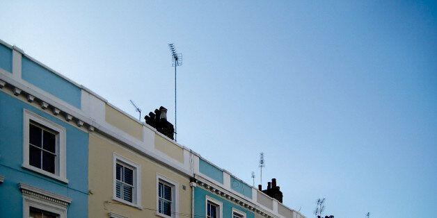 A street in London's Notting Hill