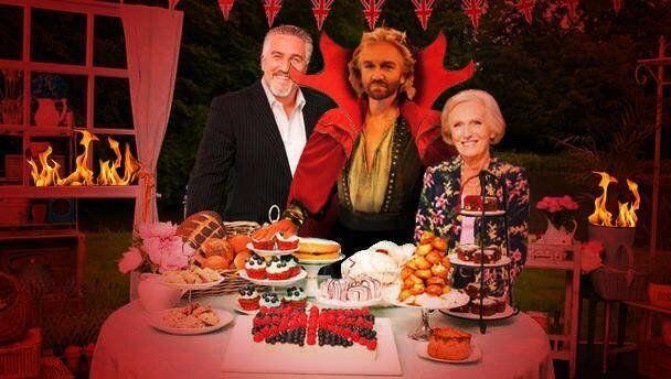 Mr Blobby's Great British Bake
