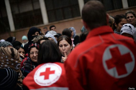 Red Cross Workers Abducted In Syria By Armed Gunmen Near