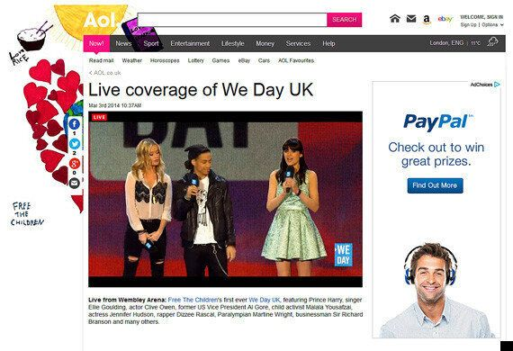We Day 2014: Live Coverage From Wembley Arena (VIDEO,