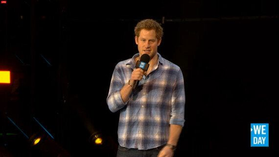 Prince Harry Appears At First We Day UK