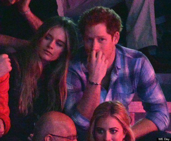 Prince Harry and Cressida Bonas Get Cosy At We Day UK