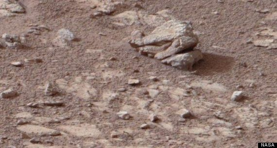 Alien Warrior's 'Mutant Lion Head' Found On
