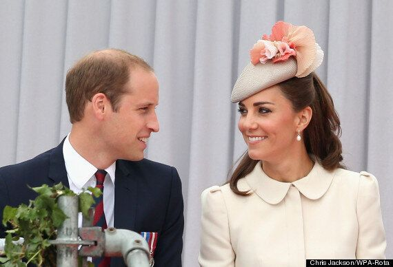Prince William And Kate Middleton Thank Belgium At World War One