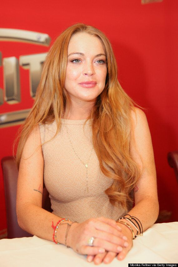 Lindsay Lohan Eyes 'Fifty Shades Of Grey' Writer E. L. James To Pen Tell All