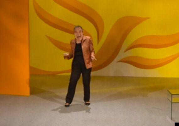 Lib Dem MP Mocks Ukip In Nigel Farage Mask
