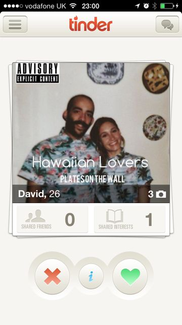 The A-Z of Tinder, Part