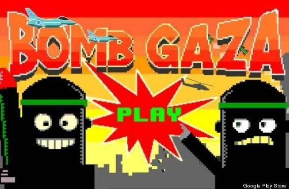 Google Removes 'Bomb Gaza' Game From Google