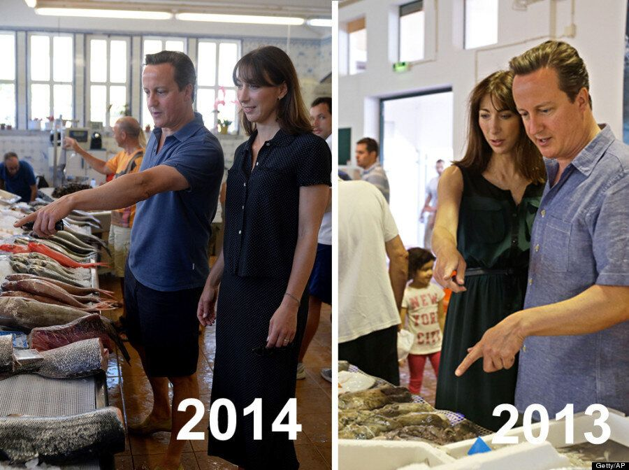 David Cameron's Holiday Snaps Are A Little Fishy