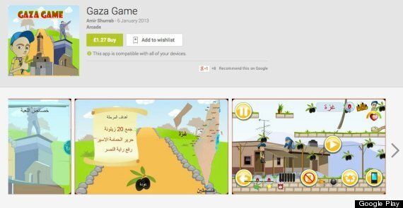 There Are At Least 5 More 'Gaza Games' On Google