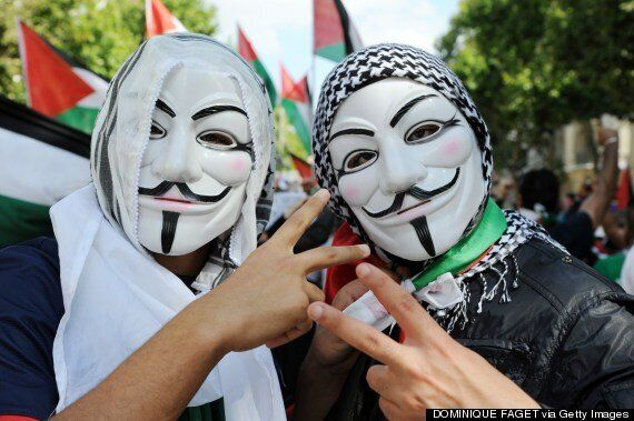 Gaza Anonymous Hacking Attack Shuts Down 'Hundreds' Of Israeli Government