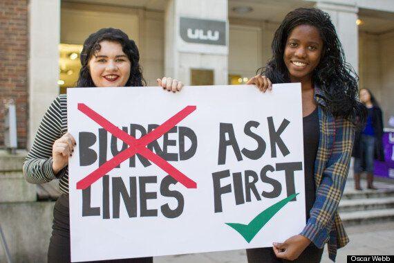 Robin Thicke Blurred Lines Banned: University Of London Union Latest To Bar 'Rapey'