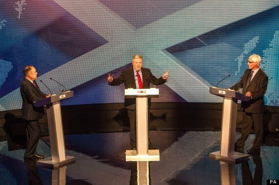 Alex Salmond And Alistair Darling Clash Over Currency In First Scottish Independence