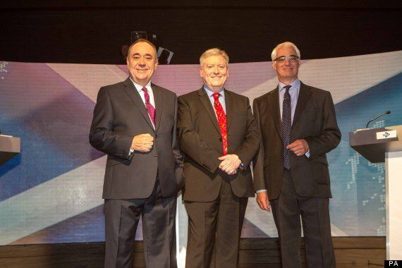 Scotland Independence Debate A Narrow Victory To Alistair Darling, According To
