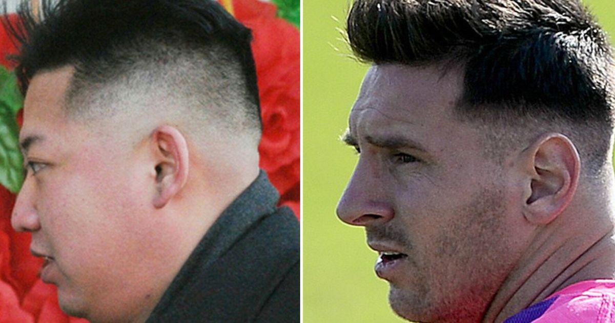 Lionel Messi S New Haircut Makes Him Look Like Kim Jong Un Huffpost Uk