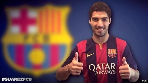 Luis Suárez's Barcelona Contract Doesn't Include 'Biting