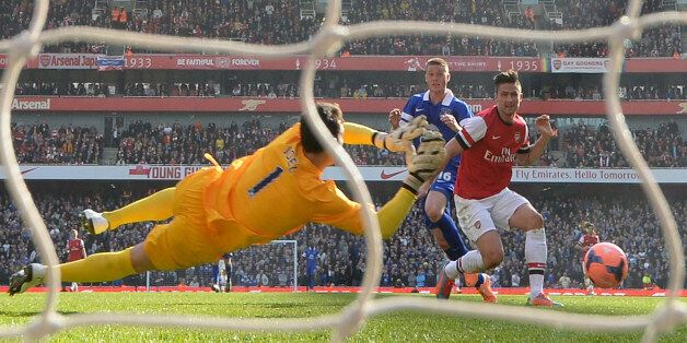 Olivier Giroud finishes a great day for