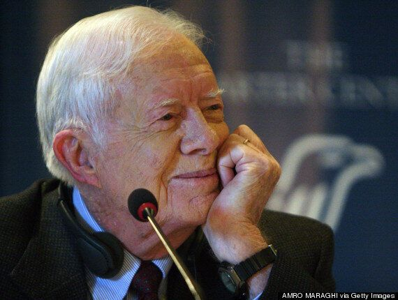 Jimmy Carter And Mary Robinson Call Gaza Offensive 'Humanitarian Catastrophe', Demand 'War Crimes' Be