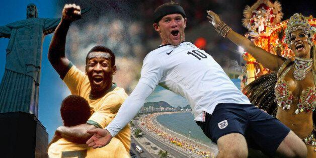 LONDON, ENGLAND - OCTOBER 15: Wayne Rooney of England celebrates scoring their first goal during the...